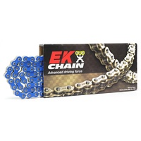 EK Chain KTM 400 EGS 1994-1997 520 QX-Ring Blue 520SRX203-120