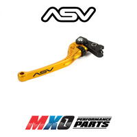 ASV C5 Long Clutch Lever Ducati Multistrada 1200/S/S Tour/S Pikes 2010-2019 Gold
