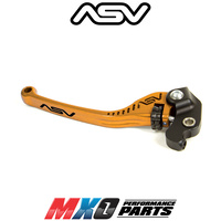 ASV F3 Long Clutch Lever Triumph Tiger Explorer 2013-2017 Gold