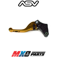 ASV F3 Shorty Clutch Lever Yamaha Super Tenere 2011-2019 Gold