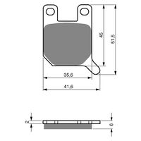 Goldfren Brake Pads GF008S3