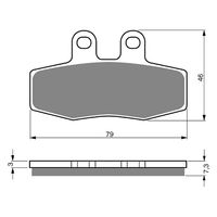 Goldfren Brake Pads GF010S3