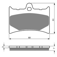 Goldfren Brake Pads GF019S3