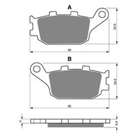 Goldfren Brake Pads GF021S3