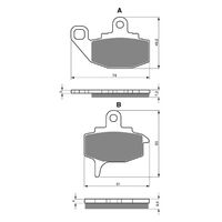 Goldfren Brake Pads GF035K5