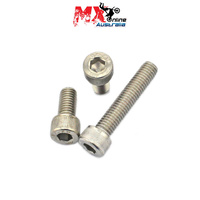 ALLEN SCREW 6X15MM QTY=50 (Thread pitch 6 x 1.0)