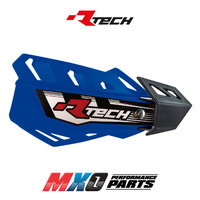 Rtech Blue FLX MX Handguards - Includes Mounting Kit