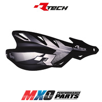 Rtech Black Raptor Wrap Handguards - Includes Mounting Kit
