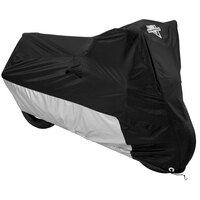 Nelson Rigg Motorcycle Cover MC-904-03-LG Deluxe Black/Silver Large
