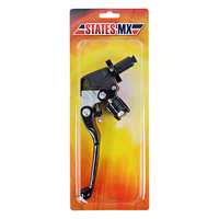 States MX Clutch Lever/Perch Black Honda CR500R 84-01