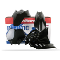 Polisport Plastics Kit BLACK 75-902-39