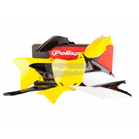 Polisport Plastics Kit for Suzuki RM-Z250 10-18 OEM 13 75-905-48