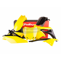 Polisport Plastics Kit for Suzuki RM-Z250 10-18 OEM 14>16 75-906-26