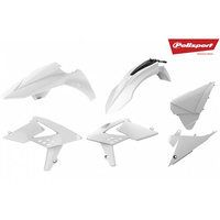 Polisport Plastics Kit Beta RR 2T/4T 13-17 WHITE 75-907-04