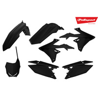 Polisport Plastics Kit for Suzuki RM-Z450 2018 BLACK 75-907-65