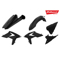Polisport Plastics Kit Beta RR 2T/4T 2018 BLACK 75-907-77
