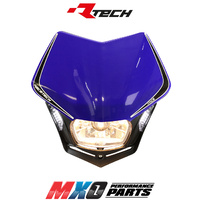 Rtech Blue V-Face Headlight with LED