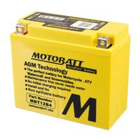 Motobatt AGM Battery Aprilia 125 SPORT CITY 2007
