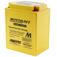 Motobatt AGM Battery Aprilia 650 MOTO 6.5 200