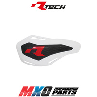 Rtech White HP1 Handguards - Includes Mounting Kit