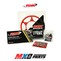 RHK Chain Sprocket Kit for Suzuki RMZ 250 2013-On 14/52T MX Gold/Red Lite