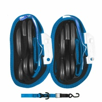 GORILLAS GRIP TIE DOWN 38MM 2/HK BLUE/BLACK LOOP