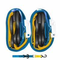 GORILLAS GRIP TIE DOWN 38MM 2/HK BLUE/YELLOW LOOP