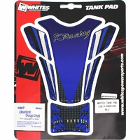 TANK PAD LARGE - 150mmx215mm R-RACING BLUE